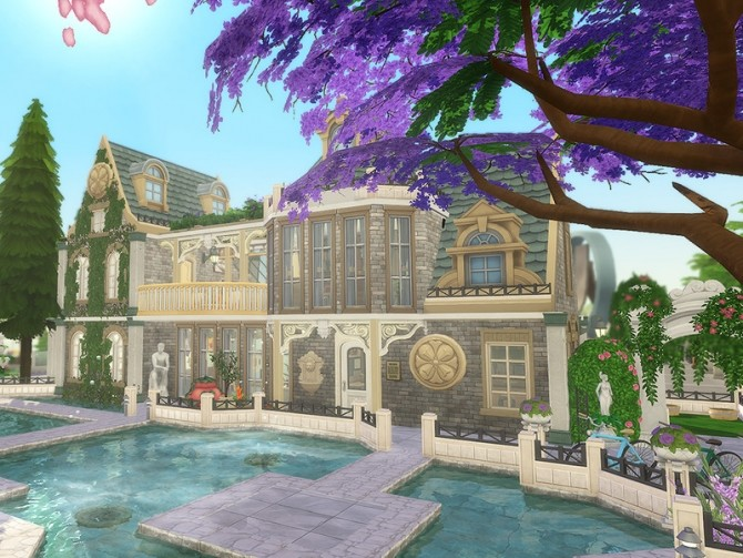 Newman Housing by Ineliz at TSR image 8105 670x503 Sims 4 Updates