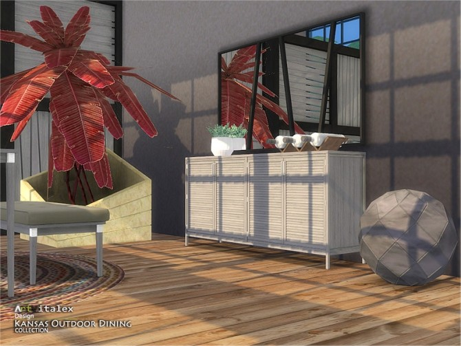 Kansas Outdoor Dining by ArtVitalex at TSR image 8116 670x503 Sims 4 Updates
