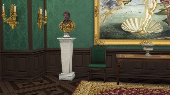 Bust of Septimius Severus by TheJim07 at Mod The Sims image 8117 670x377 Sims 4 Updates