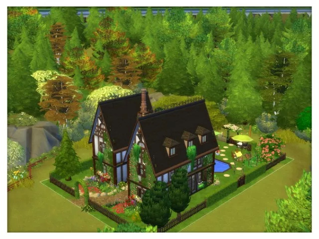 Sims 4 Sevenoaks Country Cottage by Oldbox at All 4 Sims