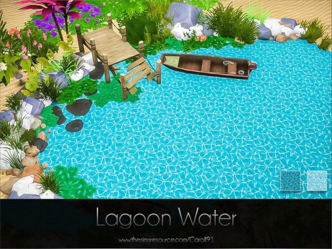 Sims 4 Lagoon Water by Caroll91 at TSR