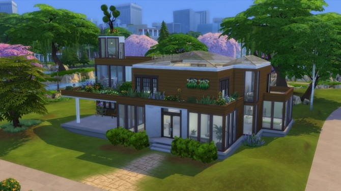 Sims 4 Solis House by Orions Belt at Mod The Sims
