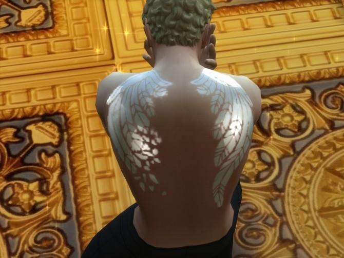 Sims 4 Hael Broken Wings at Anna Quinn Stories
