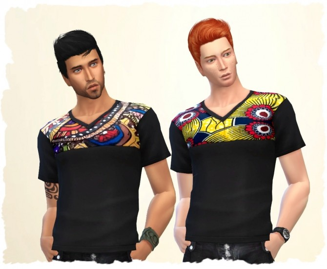 Ethno Man Shirt by Chalipo at All 4 Sims image 876 670x551 Sims 4 Updates
