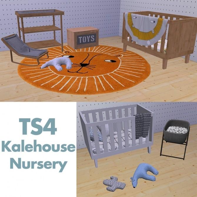 Sims 4 Scandi nursery items at Riekus13