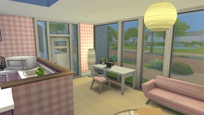 Sims 4 Angels Small Home by xperimental.sim at Mod The Sims