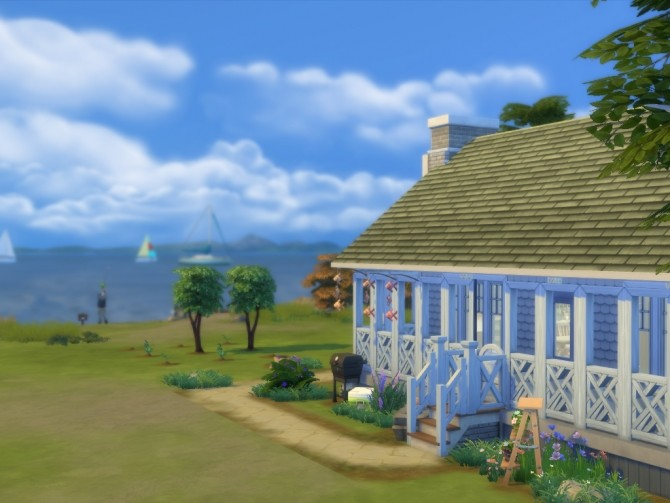 Sims 4 Fishermans Old Cottage by MiMsYT at Mod The Sims