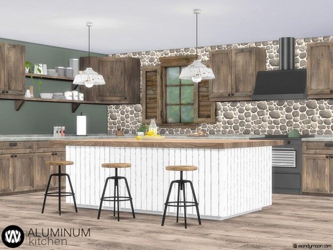 Aluminum Kitchen by wondymoon at TSR image 8921 670x503 Sims 4 Updates