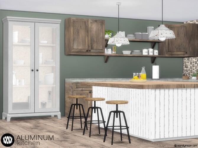 Aluminum Kitchen by wondymoon at TSR image 9126 670x503 Sims 4 Updates