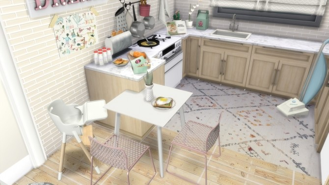 GIRL MOM APARTMENT WITH TWO KIDS at Dinha Gamer image 913 670x377 Sims 4 Updates