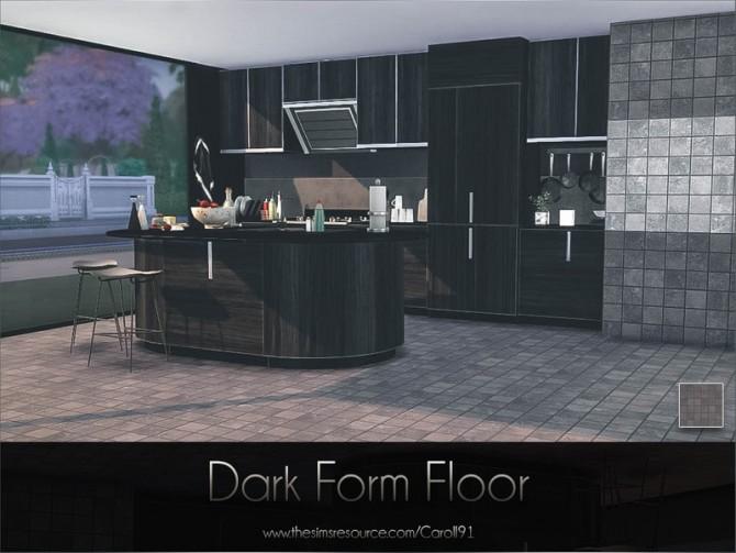 Sims 4 Dark Form Floor by Caroll91 at TSR