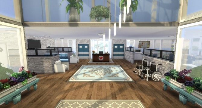 Heartstone Medical Center by chicagonative at Mod The Sims image 9317 670x359 Sims 4 Updates