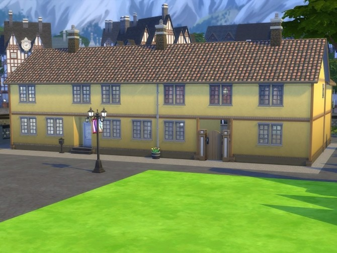 Sims 4 The Deaconess Institution at KyriaT's Sims 4 World