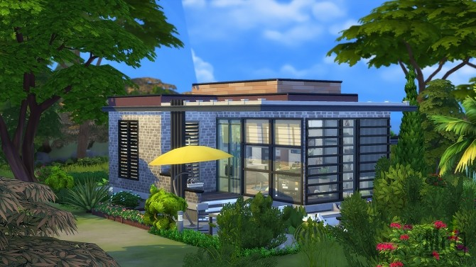 Arold Small House at Mister Glucose image 9713 670x377 Sims 4 Updates