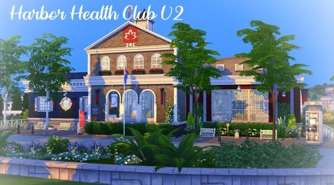 Sims 4 Harbor Health Club V2 at Jenba Sims