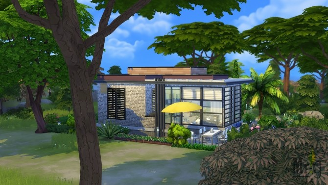 Arold Small House at Mister Glucose image 9813 670x377 Sims 4 Updates