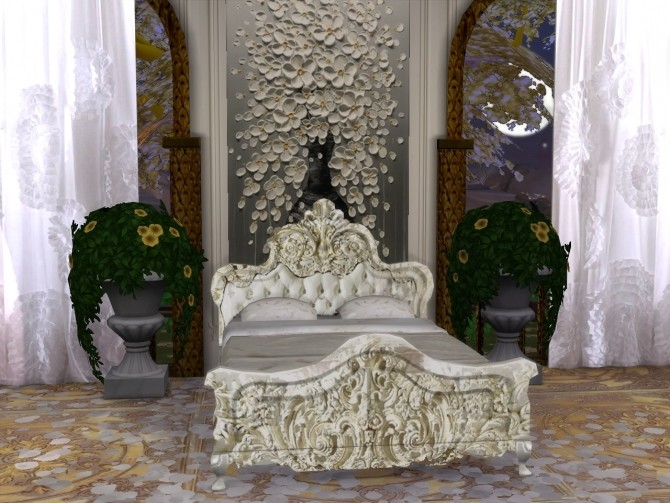 Ghostly Whispers Bed at Anna Quinn Stories image 986 670x503 Sims 4 Updates
