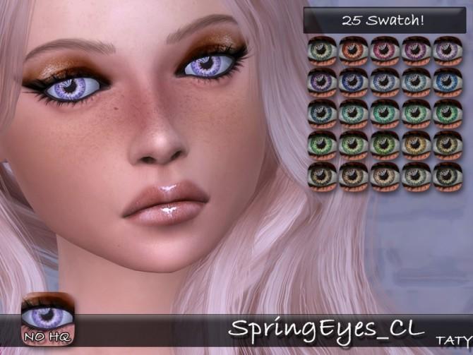 Sims 4 Spring Eyes CL by tatygagg at TSR