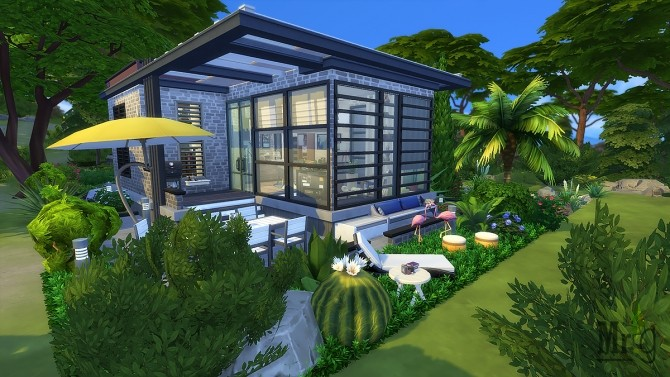 Arold Small House at Mister Glucose image 9912 670x377 Sims 4 Updates
