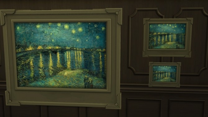 Starry Night Over the Rhone by jessiuss at Mod The Sims image 9919 670x377 Sims 4 Updates