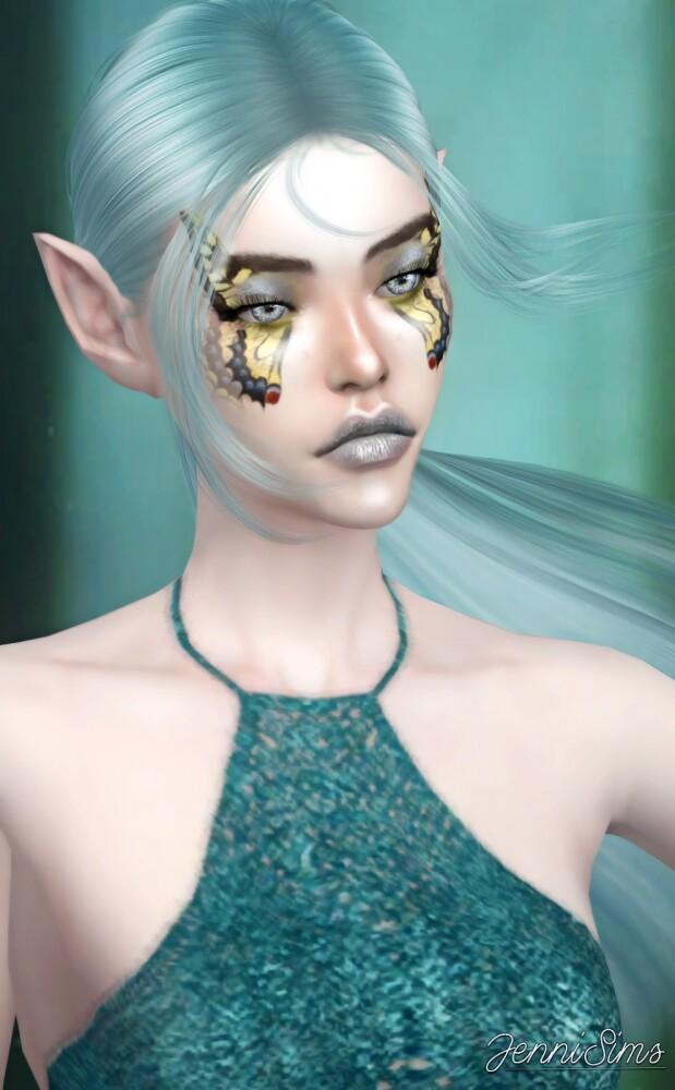 Sims 4 EYESHADOW Madame Butterfly at Jenni Sims