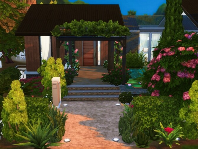 Heavenly Pearl home by Alissnoele at TSR image 10104 670x503 Sims 4 Updates