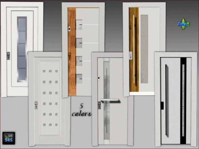 6 front doors by Mabra at Arte Della Vita image 10121 670x503 Sims 4 Updates