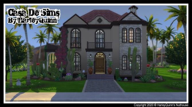 Sims 4 Casa De Sims at Harley Quinn's Nuthouse