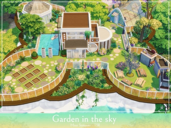 Garden in the sky by Mini Simmer at TSR image 1028 670x503 Sims 4 Updates