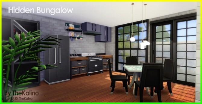 Sims 4 Hidden Bungalow at Kalino