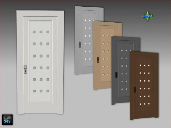 6 front doors by Mabra at Arte Della Vita image 10418 670x503 Sims 4 Updates