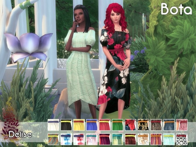 Bota dress by Delise at Sims Artists image 10514 670x503 Sims 4 Updates