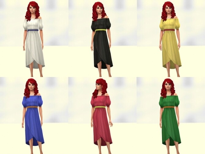 Bota dress by Delise at Sims Artists image 10614 670x503 Sims 4 Updates