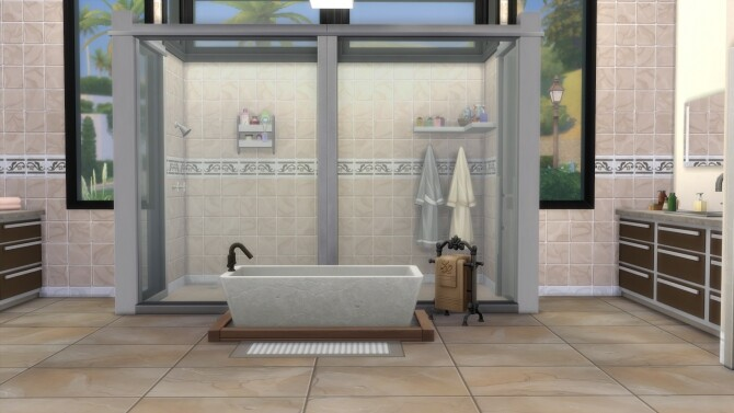 Luxury Modern House No Cc By Emyclarinet At Mod The Sims Sims 4 Updates