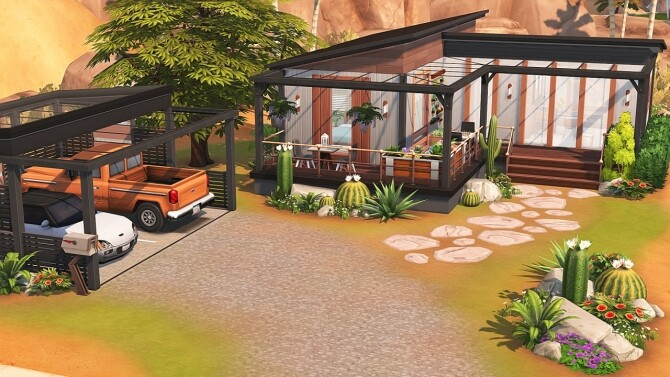 TINY TRAILER FOR A BIG FAMILY at Aveline Sims image 1093 670x377 Sims 4 Updates