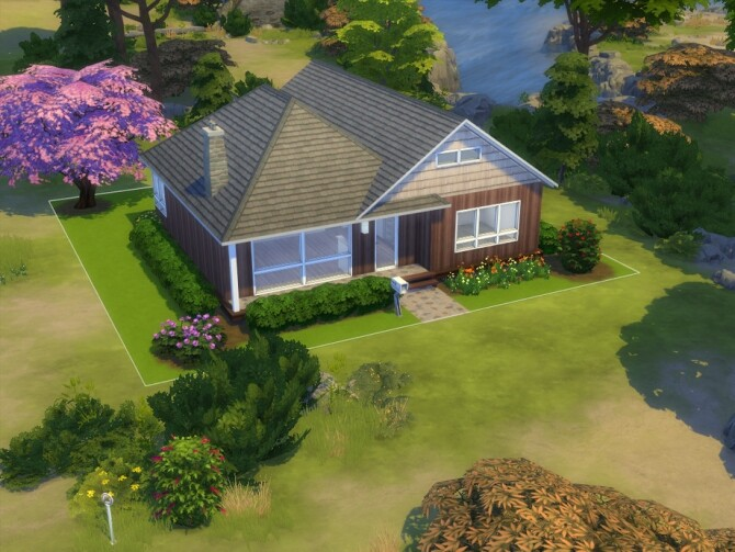 Sims 4 Mt. Airy house by davidh at TSR