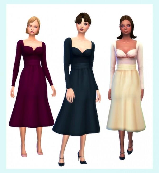 Sims 4 Christina Dress at Aslee Stuff