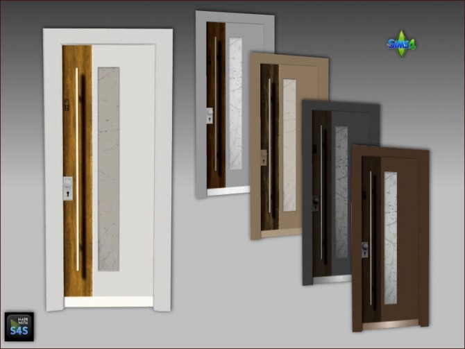 6 front doors by Mabra at Arte Della Vita image 11121 670x503 Sims 4 Updates
