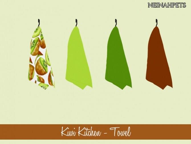 Kiwi Kitchen Decor by neinahpets at TSR image 1114 670x503 Sims 4 Updates