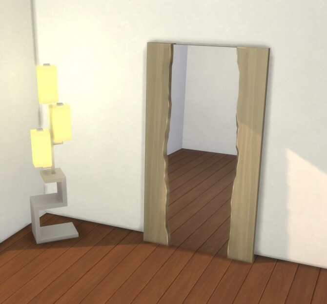 Natural Wood Mirror by therealmofsimblr at Mod The Sims image 11214 670x623 Sims 4 Updates