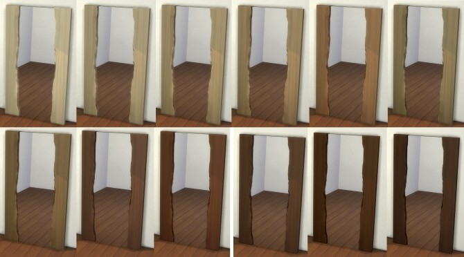 Natural Wood Mirror by therealmofsimblr at Mod The Sims image 11312 670x372 Sims 4 Updates
