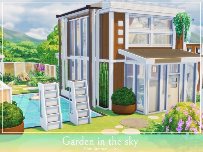 Garden in the sky by Mini Simmer at TSR image 1138 670x503 Sims 4 Updates