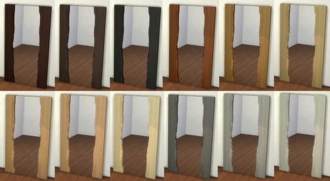 Natural Wood Mirror by therealmofsimblr at Mod The Sims image 11413 670x369 Sims 4 Updates