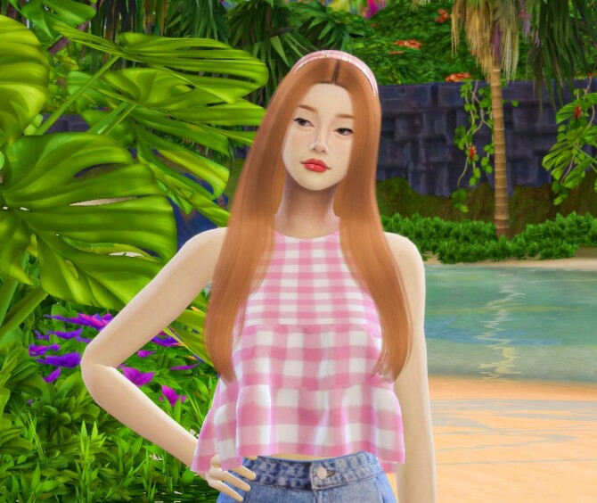 I Brownie You top at THKM16 image 116 670x564 Sims 4 Updates