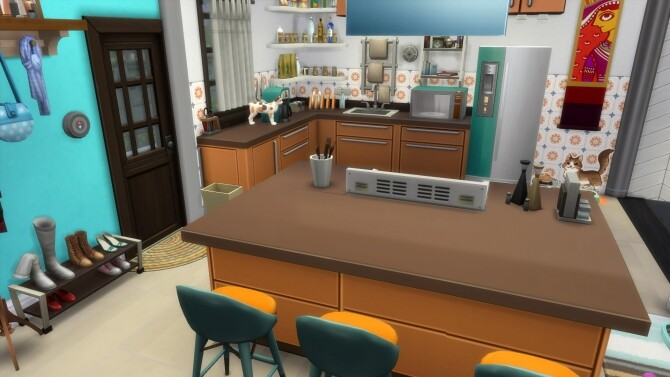 Sims 4 The notary house by Falco at L'UniverSims