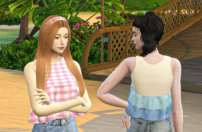 I Brownie You top at THKM16 image 117 670x437 Sims 4 Updates