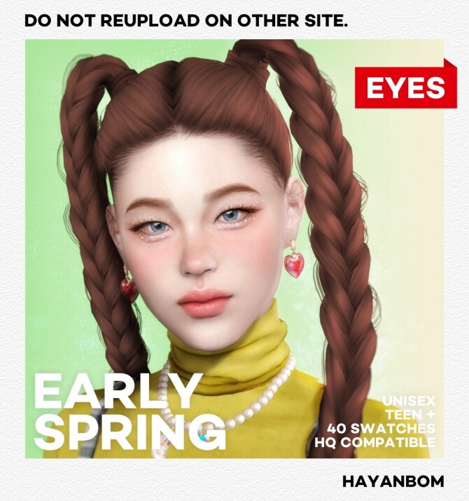 EYES EARLY SPRING at Hayanbom image 12013 670x715 Sims 4 Updates