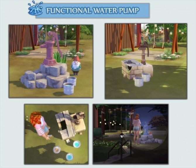 FUNCTIONAL WATER PUMP at Icemunmun image 1214 670x577 Sims 4 Updates