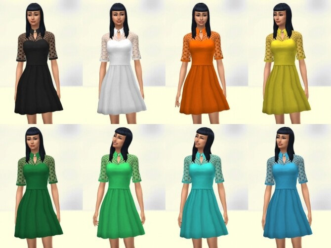 Patty dress by Delise at Sims Artists image 1216 670x503 Sims 4 Updates