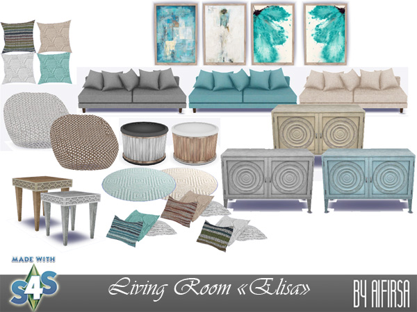 Elisa livingroom at Aifirsa image 1222 Sims 4 Updates
